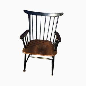 Vintage Armchair by Ilmari Tapiovaara, 1960s