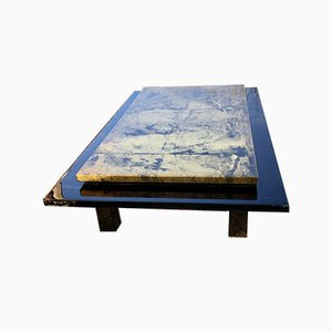 Black Lacquered Coffee Table Tray