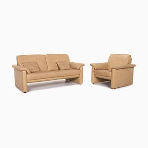 Lucca Leather Sofa from Willi Schillig, Set of 2