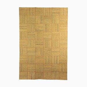 Geometrischer Wollteppich der Burano-Sammlung von Sartori, Italien