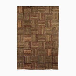 Gewobener geometrischer Teppich aus der Burano Kollektion von Sartori, Italien