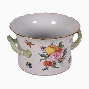 Vase en porcelaine à deux poignées de Herend