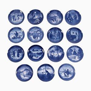 Royal Copenhagen Porcelain Dishes, Set of 15