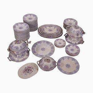 Servizio di piatti in ceramica, set di 87