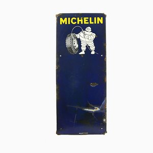 Michelin Glazed Advertising Plate