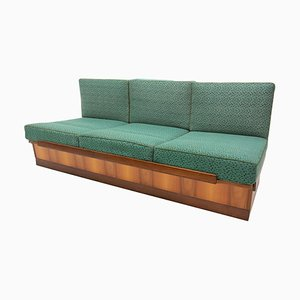 Sofa Bed in Walnut by Jindrich Halabala for Up Zavody, 1950s