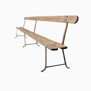 Long French Monastery Bench Nr. 1, 1930s