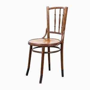French Bentwood Dining Chair from Fischel, 1930s
