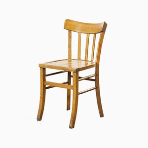 French Bentwood Dining Chair Model 3 from Luterma, 1950s