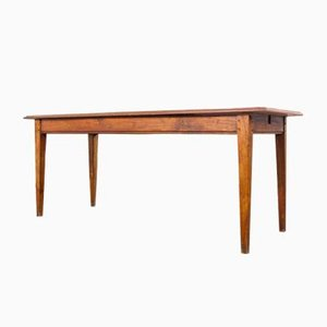 French Pearwood Rectangular Dining Table Model 1, 1950s