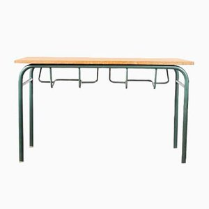 Mid-Century French School Desk or Console Table from Mullca, 1960s