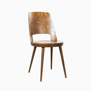 French Bentwood Mondor Dining Chair from Baumann, 1960s