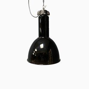 Black Enamel Bauhaus Lamp