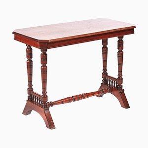 Viktorianischer antiker Tisch aus Nussholz