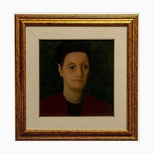 Eraldo Mori Cristiani, Portrait, 1941, Oil on Canvas