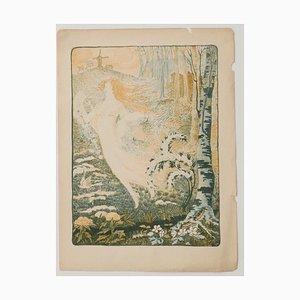 Gérard Roojen, Fairy, 1918, Lithograph On Paper