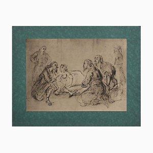 Constantin Guys, Meeting, 1850s, Print on Paper
