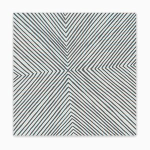 Felt Gingham, Abstract Painting, 2020