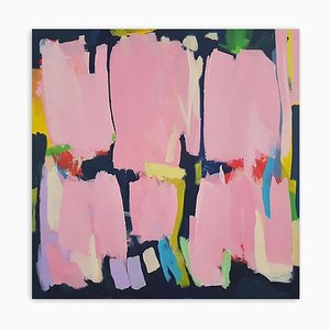 Pink, Abstract Painting, 2020