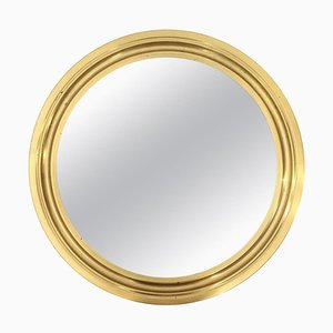 Narciso Mirror with Brass Frame by Sergio Mazza for Artemide, 1960s