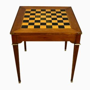 Louis XVI Inlaid Wood Game Table