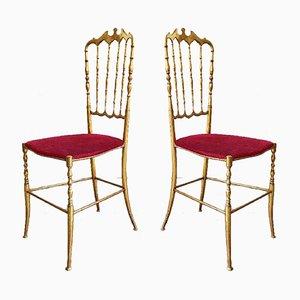 Chiavari Chairs, 1950s, Set of 2