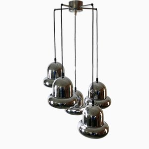 Danish Cascade Hanging Lamp, 1970