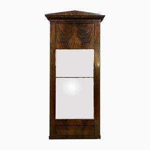 Biedermeier Mahogany Mirror, 1820s