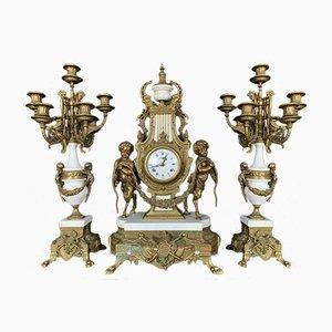 Bronze Clock, 1950s