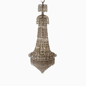 Empire Bohemian Chandelier, 1940s