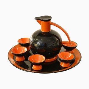 Servizio da tavola di Ceramiche Rometti, anni '50, set di 8
