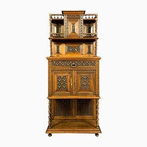 Renaissance Natural Wood Cabinet