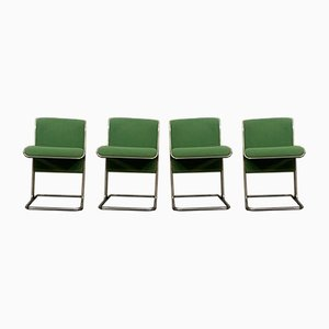 Vintage Dining Chairs by Antonio Ari Colombo for Arflex, Set of 4