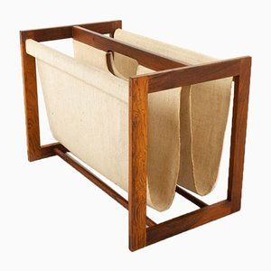 Danish Magazine Rack by Aksel Kjersgaard, 1960s