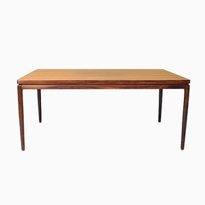 Danish Rosewood Dining Table by Johannes Andersen for Christian Linneberg, 1960s