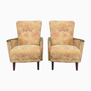 Vintage Fauteuil Lounge Chairs, 1960s, Set of 2