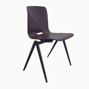 Vintage Plywood Pagholz S22 Galvanitas Chair, 1960s