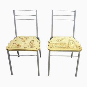Italian Chairs from Parisotto, 1970s, Set of 2
