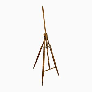 Antique Foldable and Adjustable Painters Easel from Hansen's