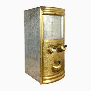 Vintage Brass Coffee Bean Dispenser