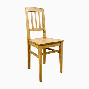 Antique Pine Wooden Chair