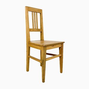 Antique Pine Wooden Chair