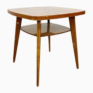 Vintage Walnut Veneer Side Table