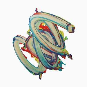 César Delgado, Souvenir 49, Spanish Colorful Artwork