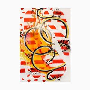 Moreno, Loops 17 Happiness, 2001, Colorful Artwork