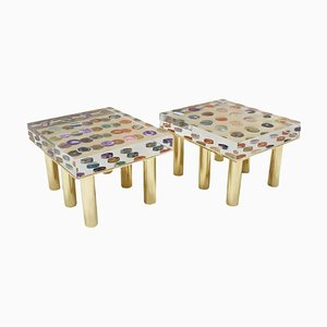 Modern Italian Coffee Tables from Superego Studio, Set of 2