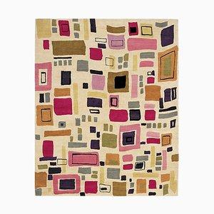 Modern Pattern Manhattan Wool Rug by Kim Parker