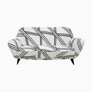 Mid Century Italian Perla Sofa by William Veronesi for Isa Bergamo