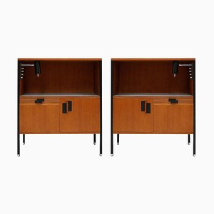 Mid-Century Italian Model 222 Bedside Tables by Ico Parisi for Mim, Set of 2