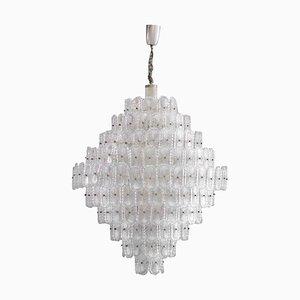 Mid-Century Murano Glass Italian Pendant Lamp